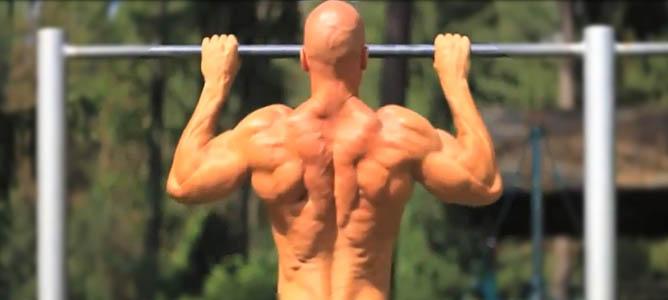 как накачать широкую спину