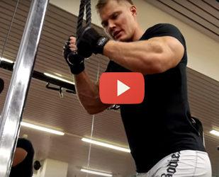 как накачать мышцы рук видео