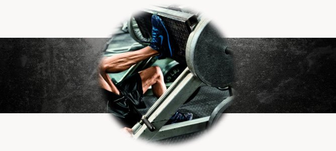Жим ногами лежа на тренажере для девушек