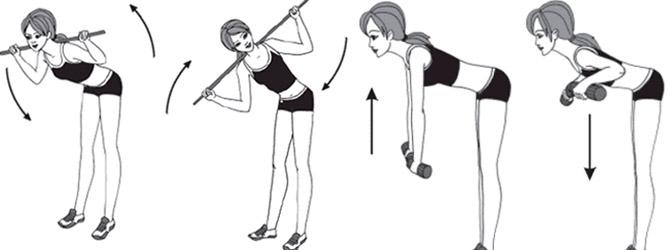 Упражнения для прямой осанки в домашних условиях