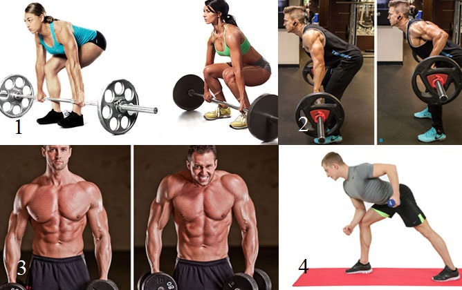 Эмг-активность упражнений со стандартным оборудованием в сравнении с тягой верхнего блока к шее выглядит следующим