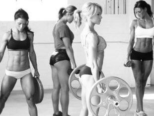 Комплекс упражнений в спортивном зале для девушек и женщин