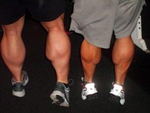 Как накачать голень ноги дома или в спортивном зале