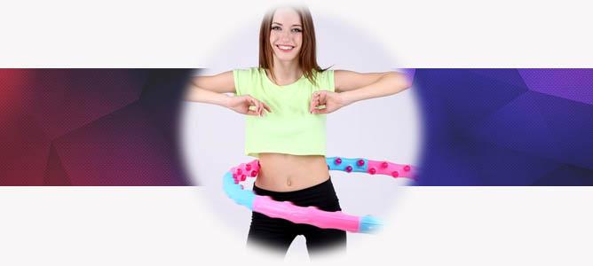 Помогает ли обруч похудеть и избавиться от живота