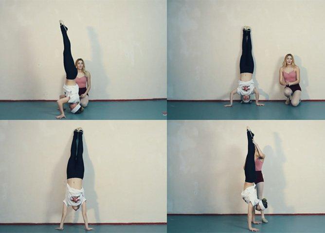 Упражнения для тренировки стойки