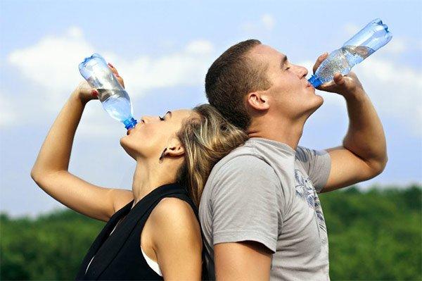 Питьевой режим во время похудения