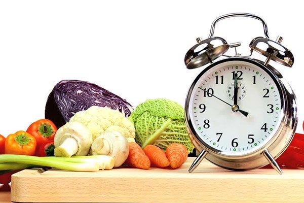 Почасовой режим питания при похудении