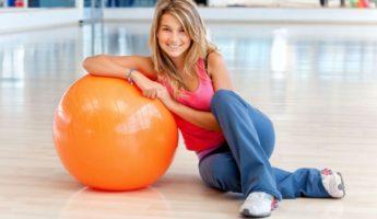 Похудение с фитболом