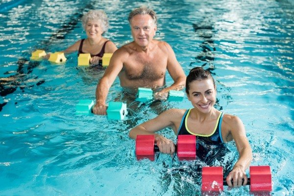 Похудение в бассейне