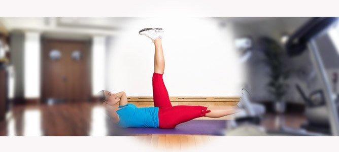 упражнения для тонкой талии и плоского живота