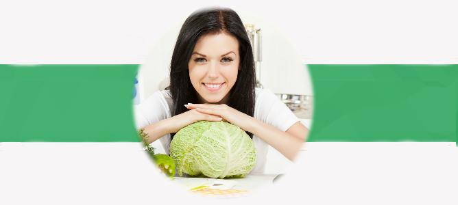Капустная диета для похудения: минус 24 кг за месяц