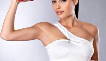 Как накачать руки девушке в домашних условиях