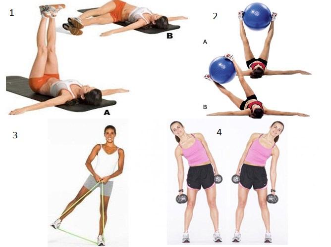 Варианты упражнения «маятник»