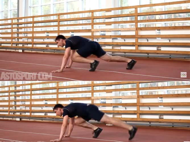 Упражнение «Скалолаз»: техника выполнения, группы мышц, польза