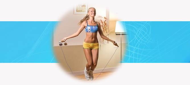 Как правильно выбрать скакалку для тренировок: по длине, росту, материалу