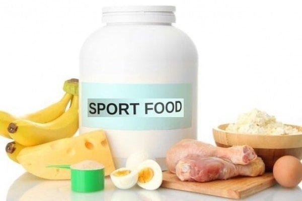 Виды спортивного питания